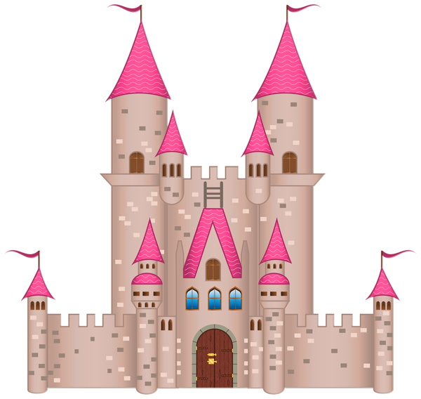 Fairytale clipart 3d castle, Fairytale 3d castle Transparent.