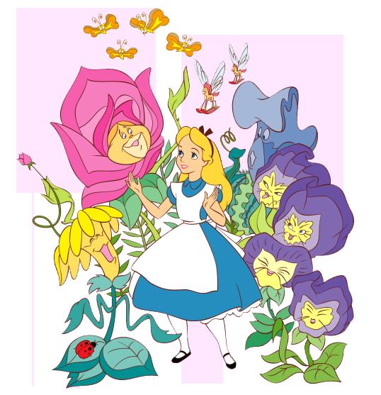 Alice In Wonderland Disney Characters: Alice In Wonderland Characters Disney Clipart