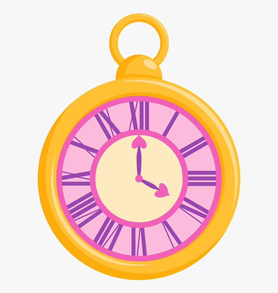 Clock Clipart Alice In Wonderland.