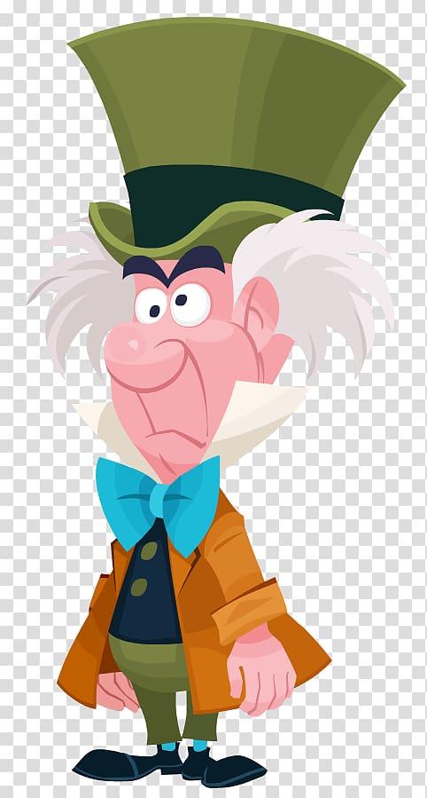 Disney Alice In Wonderland Mad Hatter cartoon , The Mad.