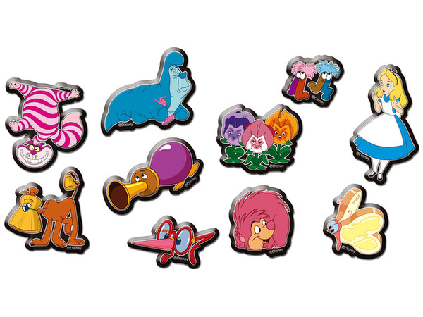 Alice in Wonderland: Marshmallow Sticker 1 Mysterious Creatures of the  Forest.