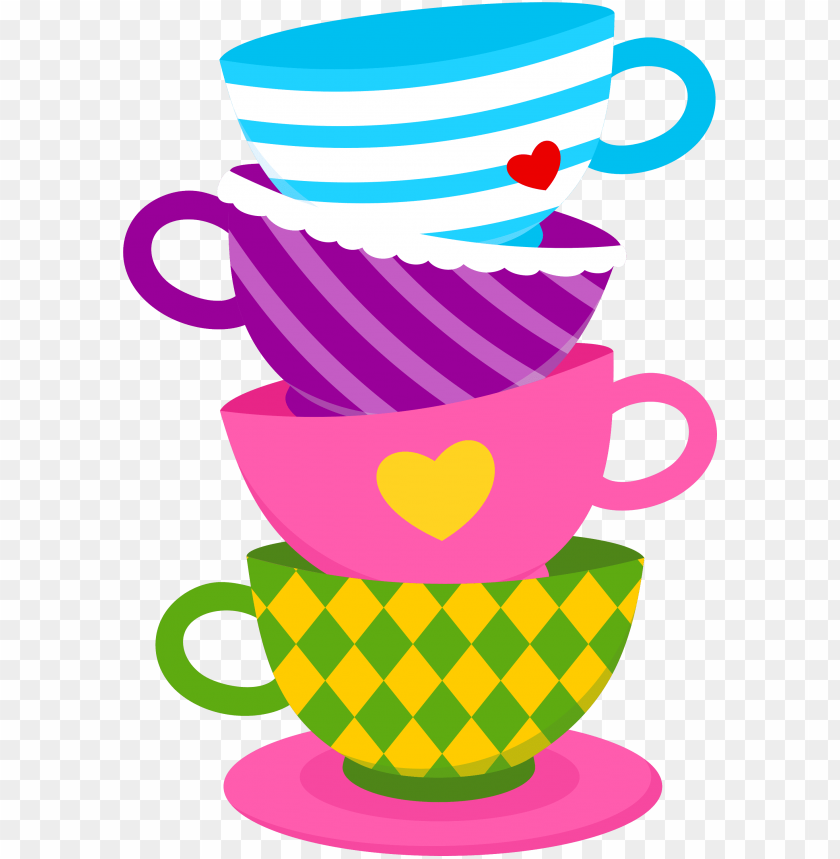 alice in wonderland tea cups png.