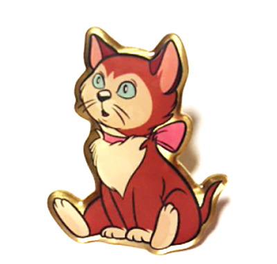 RETIRED RARE DISNEY Pin✿ Alice in Wonderland Cat Dinah.