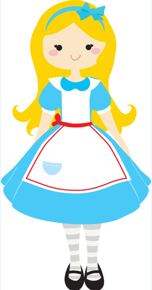 Free Alice In Wonderland CLIP ART.
