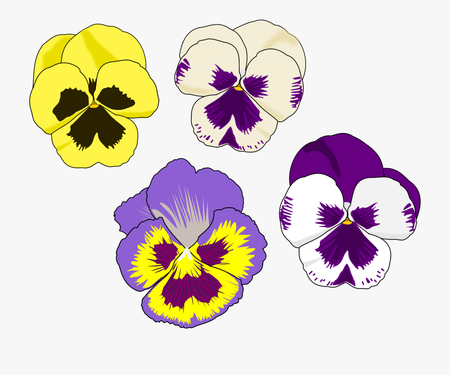 Alice In Wonderland Flowers Clipart.
