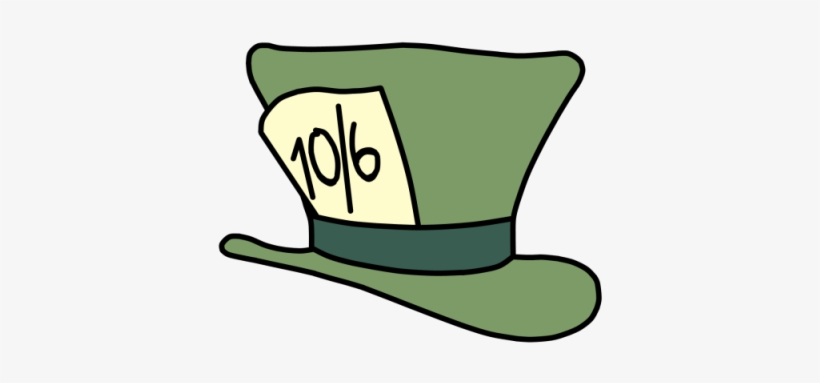 Alice In Wonderland Clipart Top Hat.