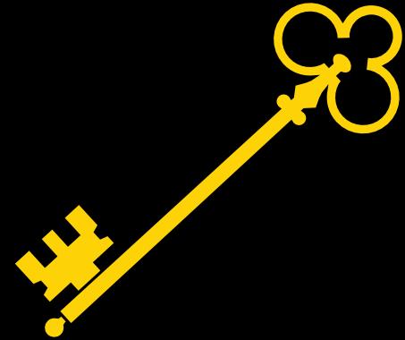 Alice In Wonderland Key Clipart.
