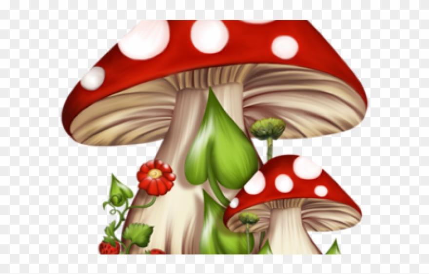 Gnome Clipart Alice In Wonderland Mushroom.