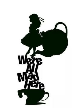 Alice In Wonderland Silhouette at GetDrawings.com.