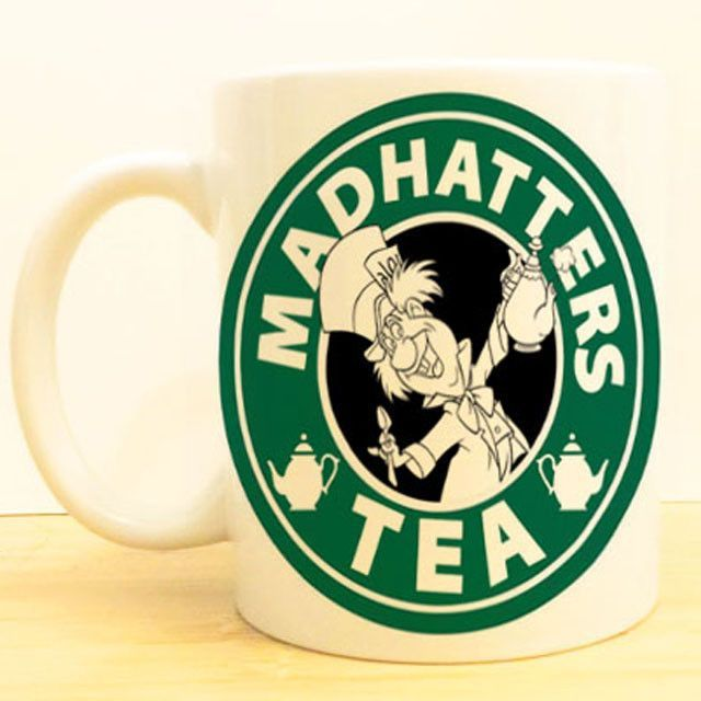 Mad Hatter\'s Tea Coffee Mug.