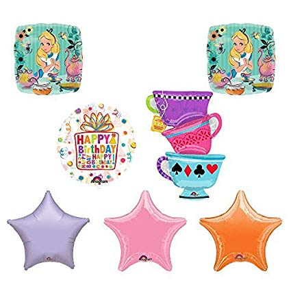 Amazon.com: ALICE IN WONDERLAND Tea Party Tea Cup Birthday.