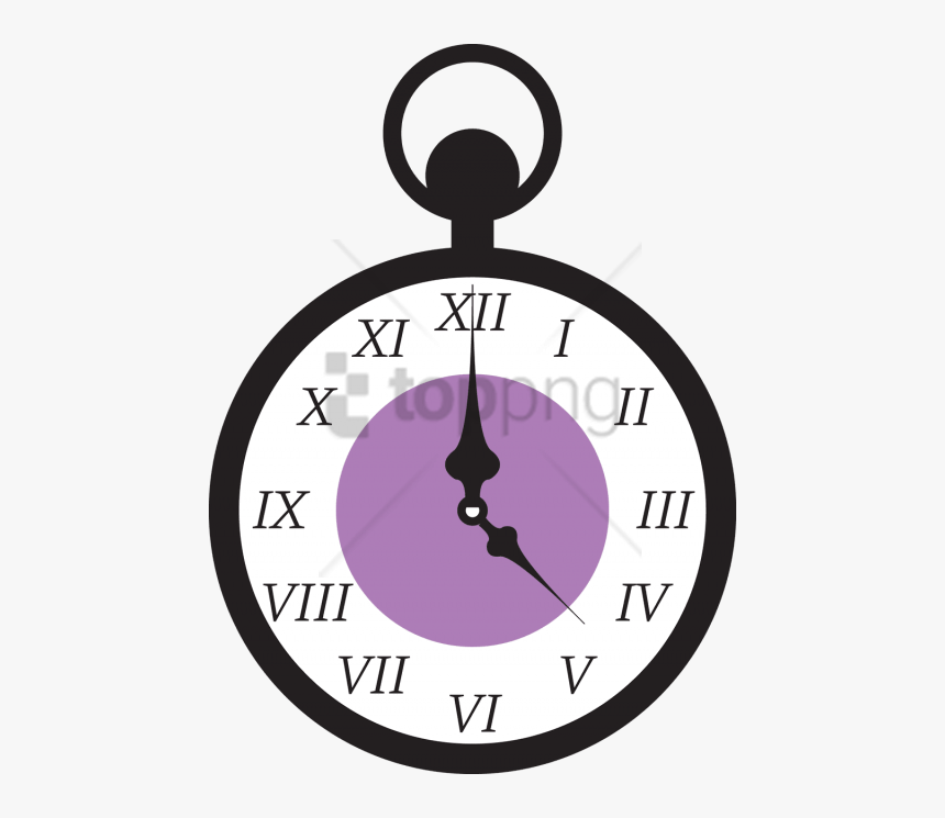 Alice Wonderland Clock Png Image With Transparent Background.