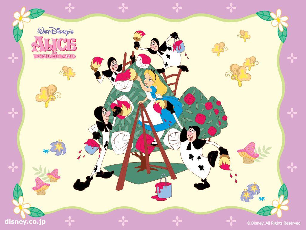 Alice in Wonderland Wallpaper in 2019.