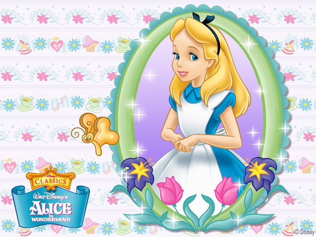 Alice in Wonderland Wallpaper.