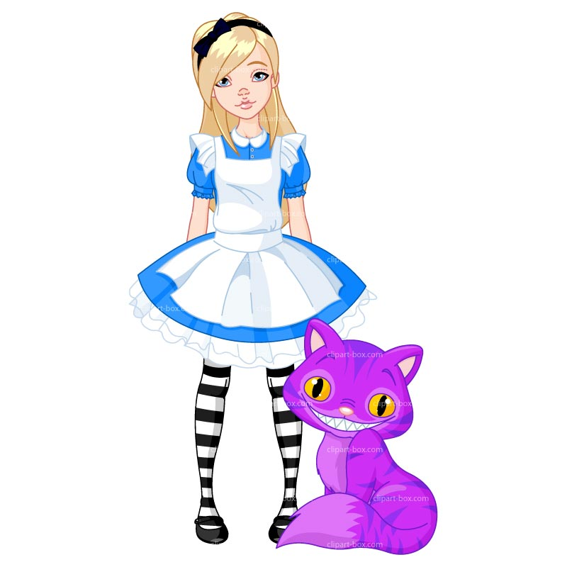 Free Alice In Wonderland Clipart.