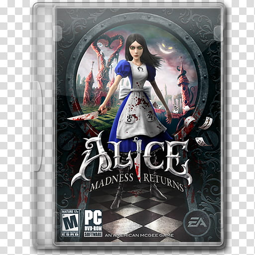 Game Icons , Alice Madness Returns transparent background.