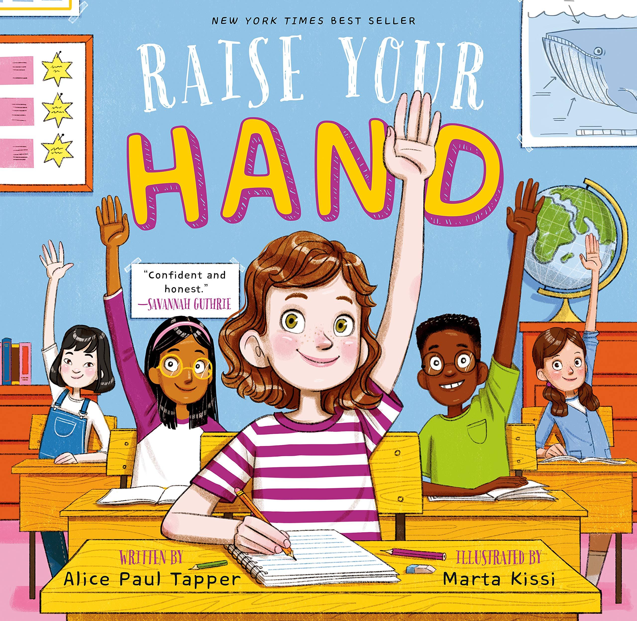 Raise Your Hand: Alice Paul Tapper, Marta Kissi.