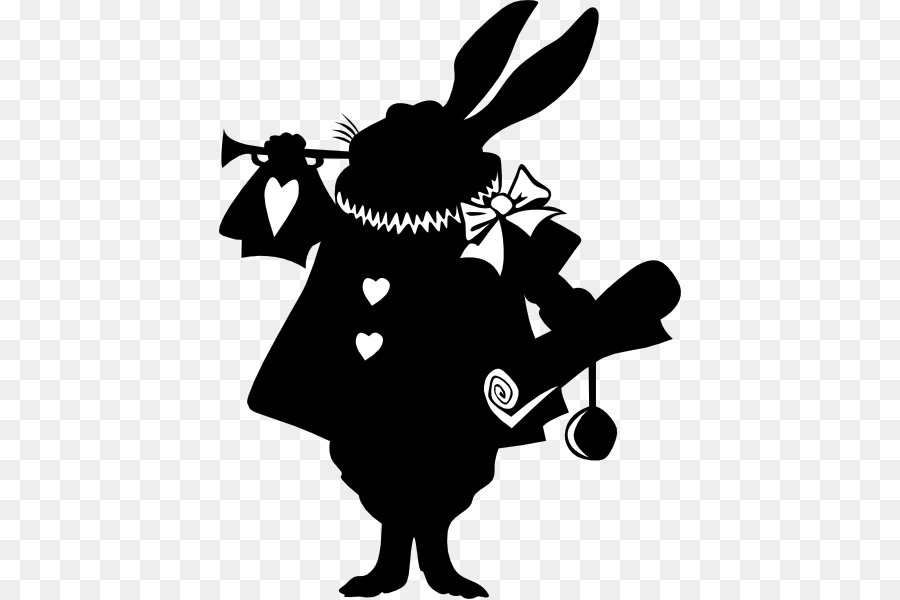 Free Alice In Wonderland Silhouette Free, Download Free Clip.