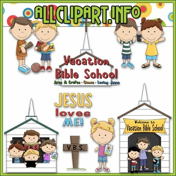 Vacation Bible School Clip Art.