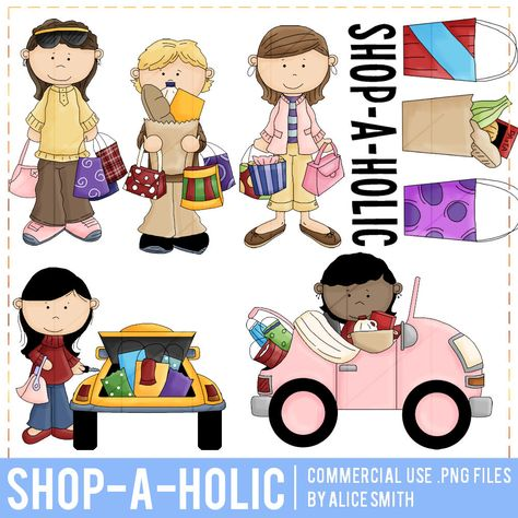 Shop a Holic Clip Art by Alice Smith in 2019.