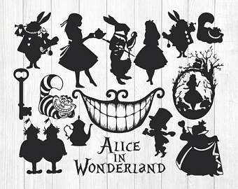 Alice In Wonderland Vector at GetDrawings.com.