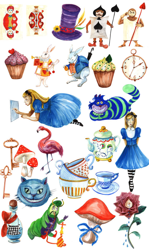 Alice In Wonderland Teacup Clipart.