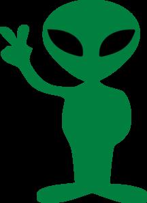 Alien head clip art.