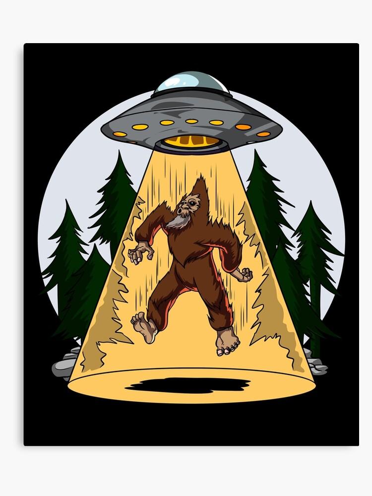 Bigfoot Alien Abduction.