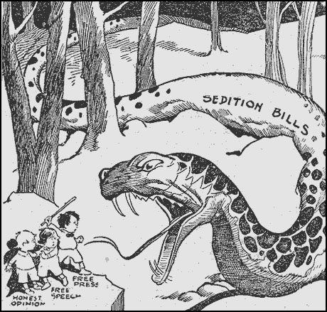alien and sedition acts political cartoon.
