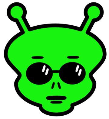 Free Animated Alien, Download Free Clip Art, Free Clip Art.