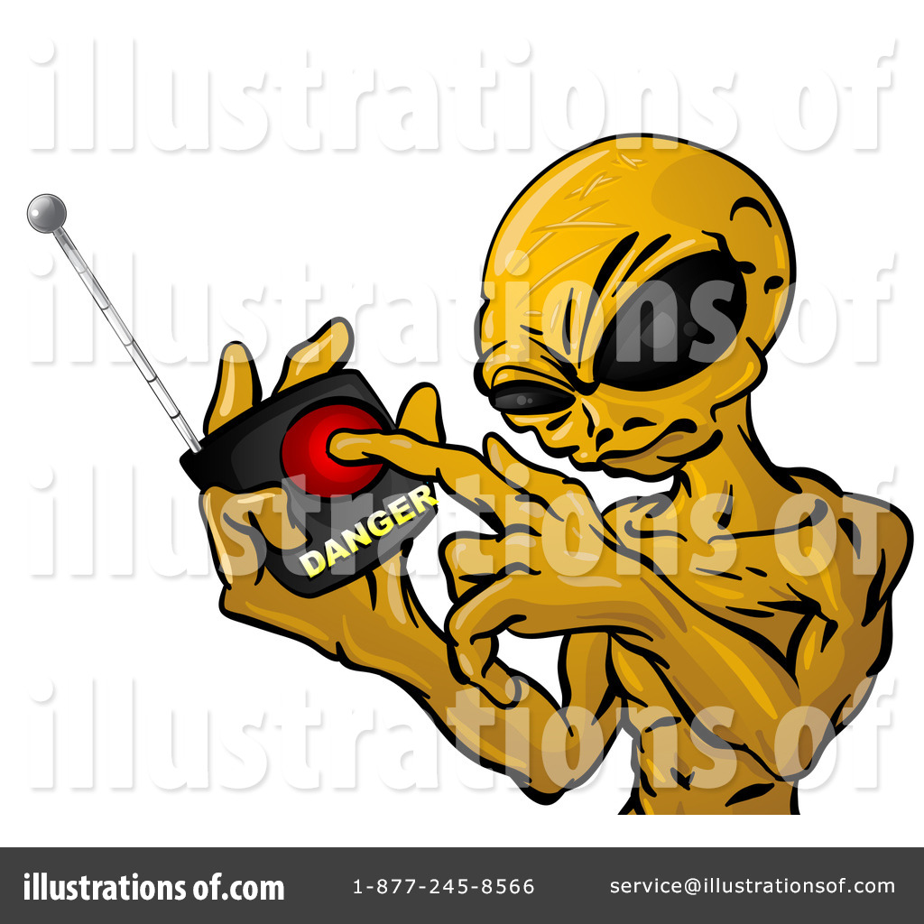 Alien Clipart #21978.