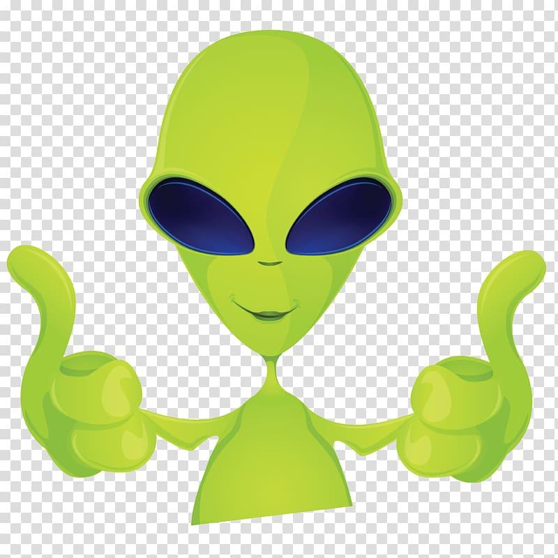 Alien Extraterrestrial life , Alien transparent background.