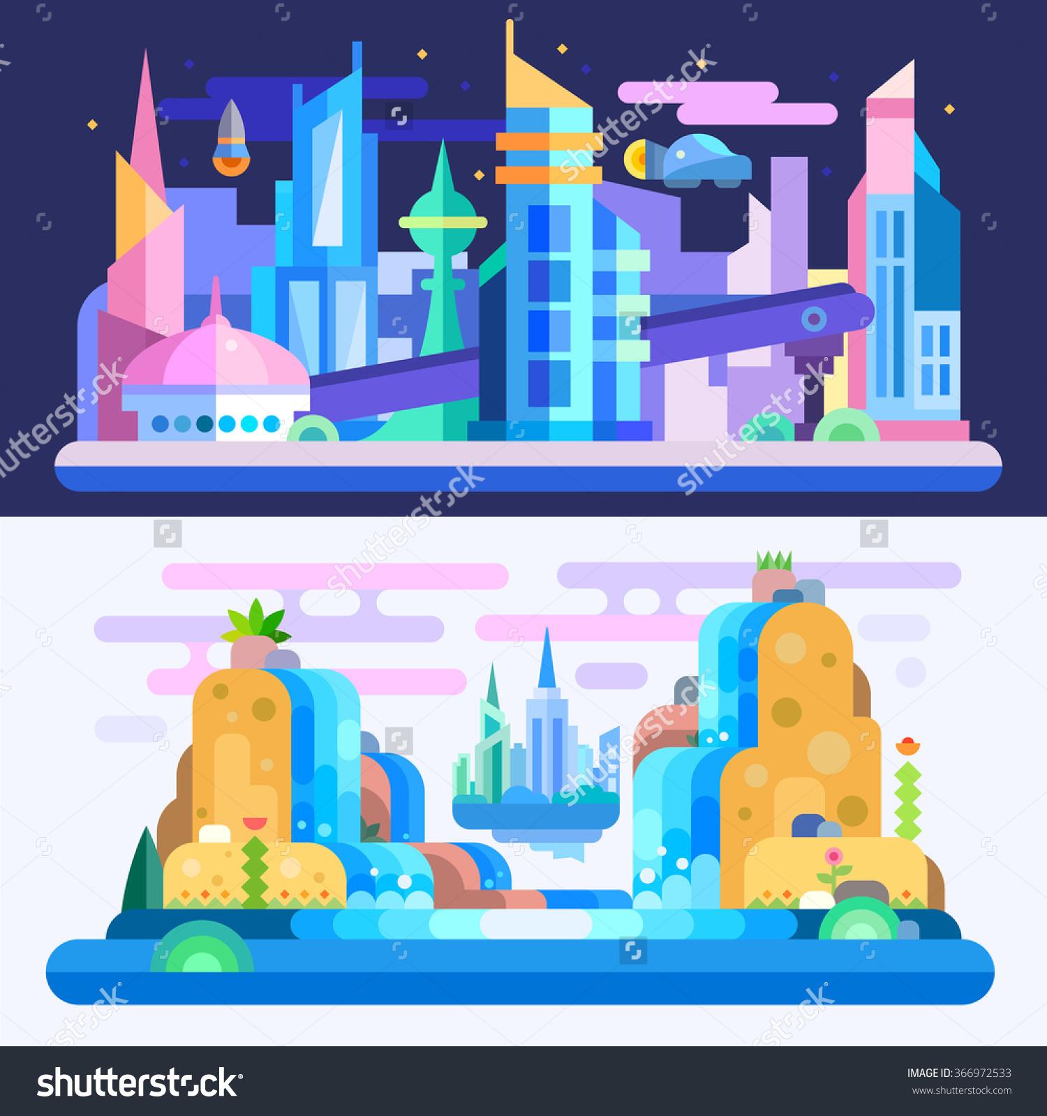 Free Futuristic City Cliparts, Download Free Clip Art, Free.