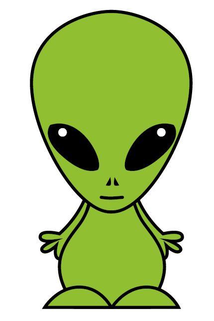 Easy Alien Clipart.