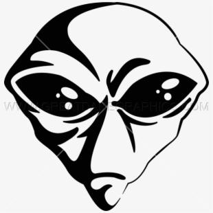 Vector Alien Head.