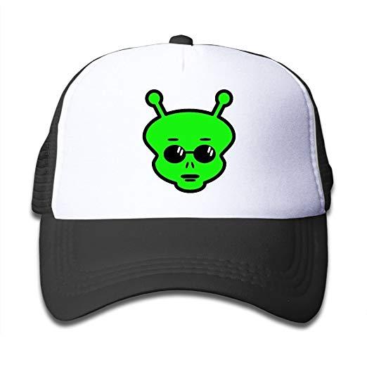 Amazon.com: Alien Clipart On Children\'s Trucker Hat, Youth.