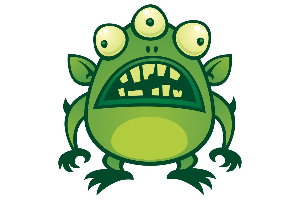 Ugly Alien Monster.