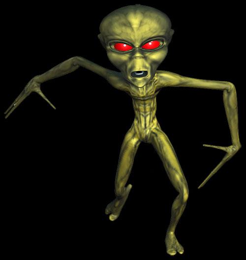 Free Alien Animations.