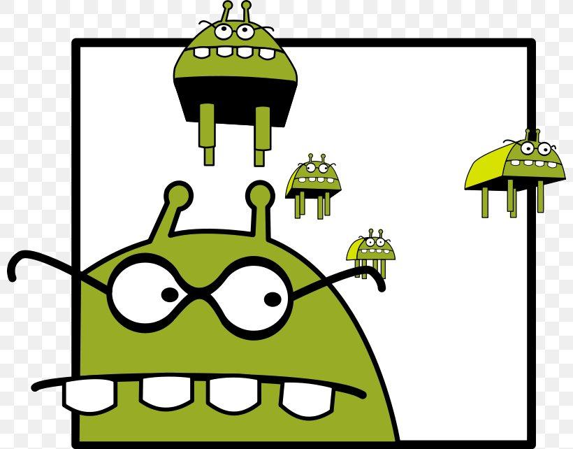 Alien Cartoon Monster Illustration, PNG, 800x642px, Alien.
