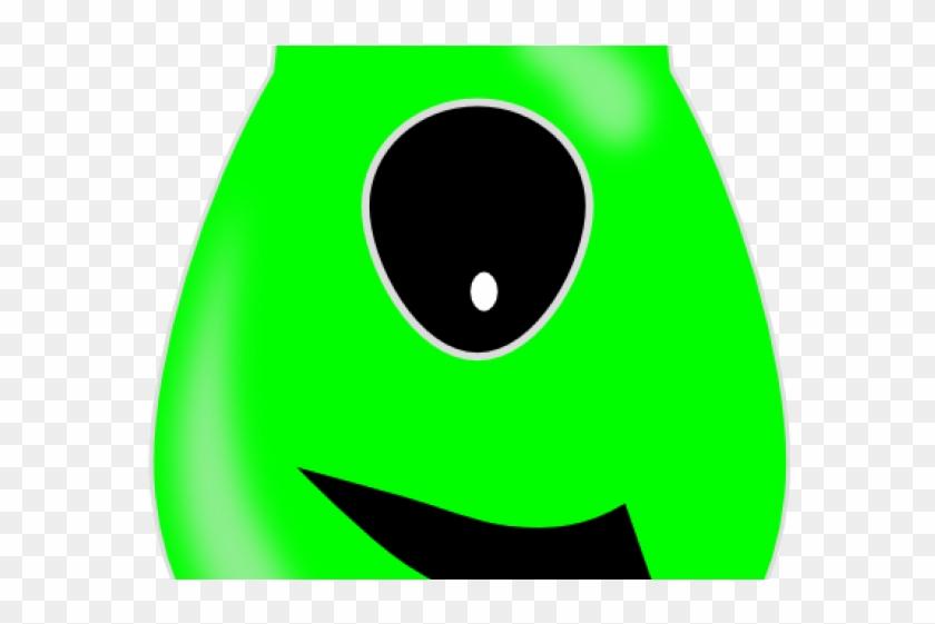 Green Eyes Clipart Alien.