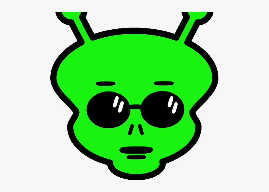 Clip Art Alien Face, Cliparts & Cartoons.
