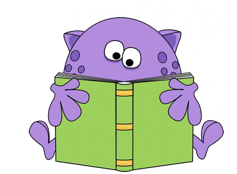 Alien clipart reading, Alien reading Transparent FREE for.