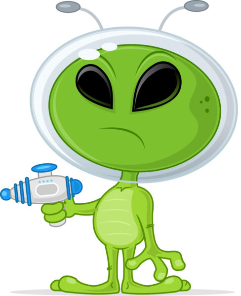 I'm Not Saying NRA Members Are Aliens, But ….