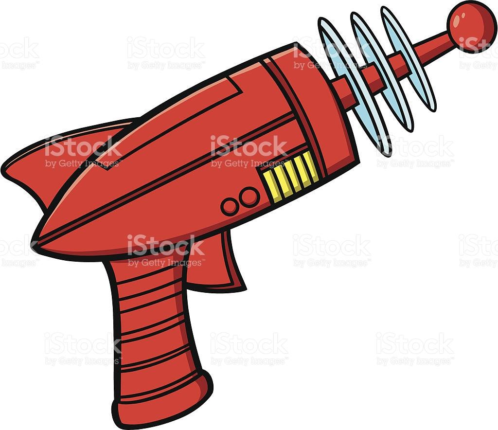 Ray Gun stock vector art 165977839.