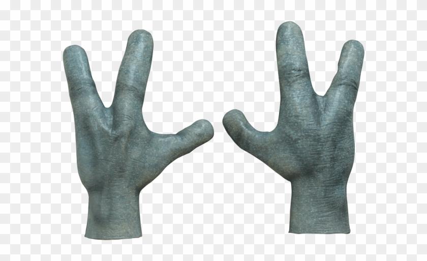 Alien Hand, Robot Hand, Claw Gloves, Hand Gloves, Girl.