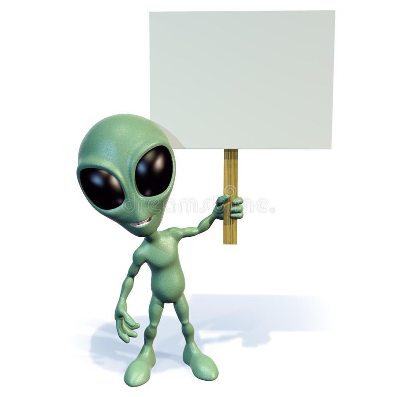 Alien Sign Stock Illustrations.