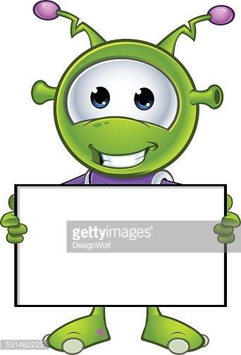Little Green Alien.
