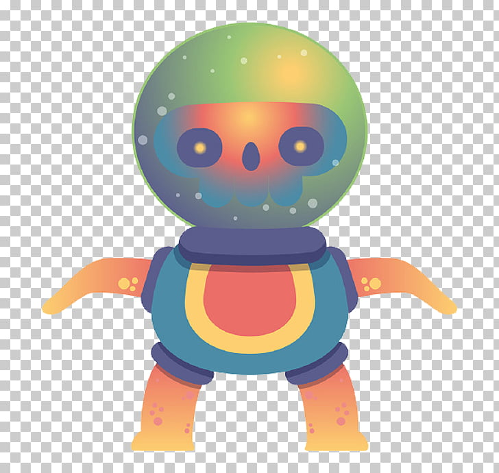 Monster Behance Illustration, Cartoon alien PNG clipart.