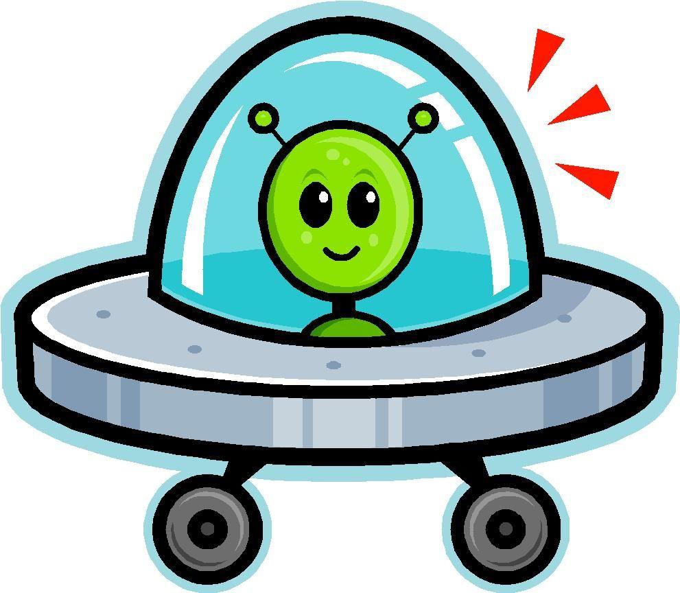 Cartoon Spaceship.