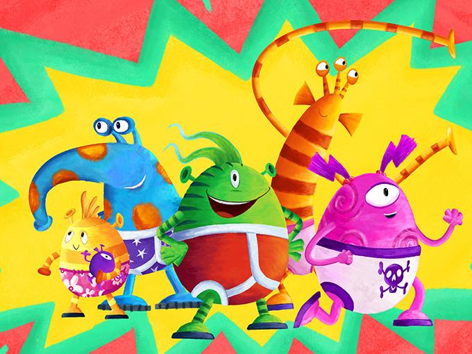 Kidscreen » Archive » Aliens Love Underpants AND… Disney Junior.